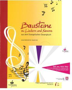 """""""Bausteine zu Liedern und Kanons"""" + CD """"Geh aus mein Herz"""""""