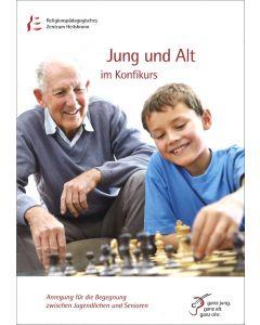 Jung und Alt im Konfikurs