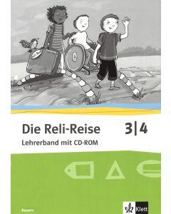 Die Reli-Reise 3/4 (Lehrerband mit CD-ROM)