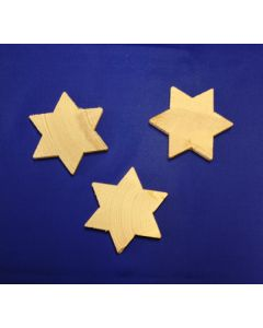 Stern aus Holz (6,5 cm)