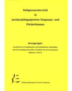 Religionsunterricht in sonderpädagogischen Diagnose- und Förderklassen